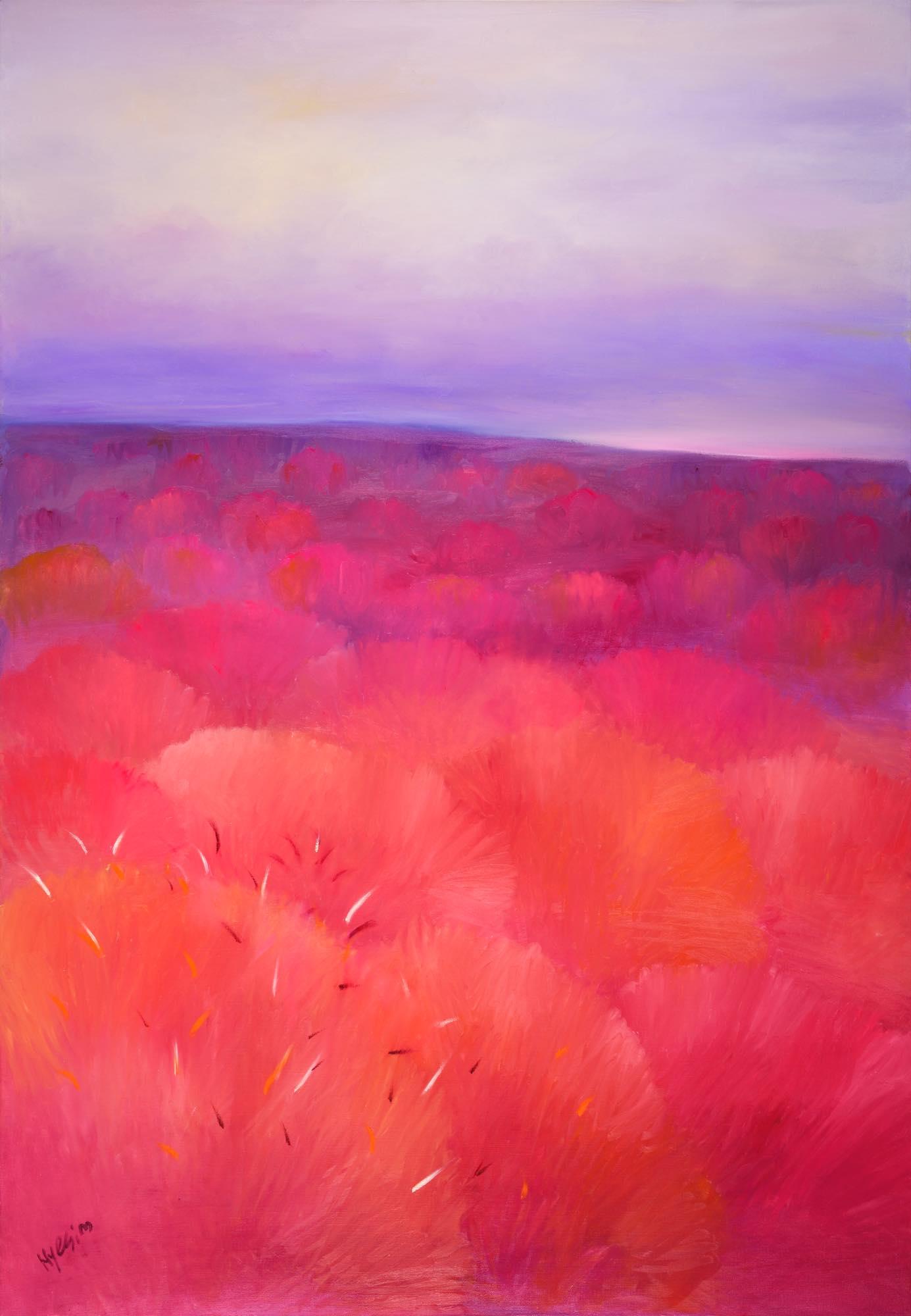Hyesim Choi, Oil on Canvas, 112cm(W) x 162cm(H), 2020