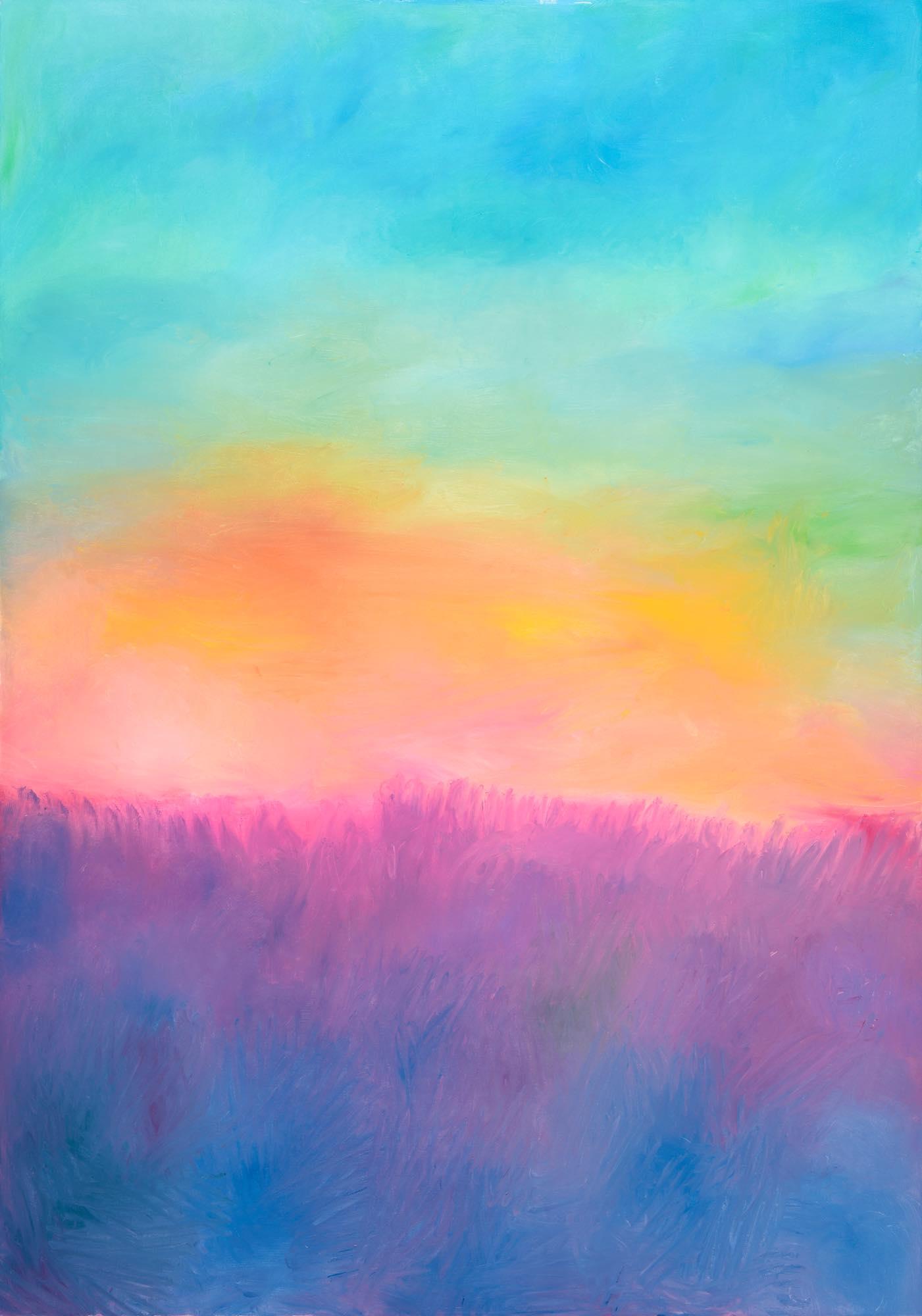 Hyesim Choi, Oil on Canvas, 112cm(W) x 162cm(H), 2021