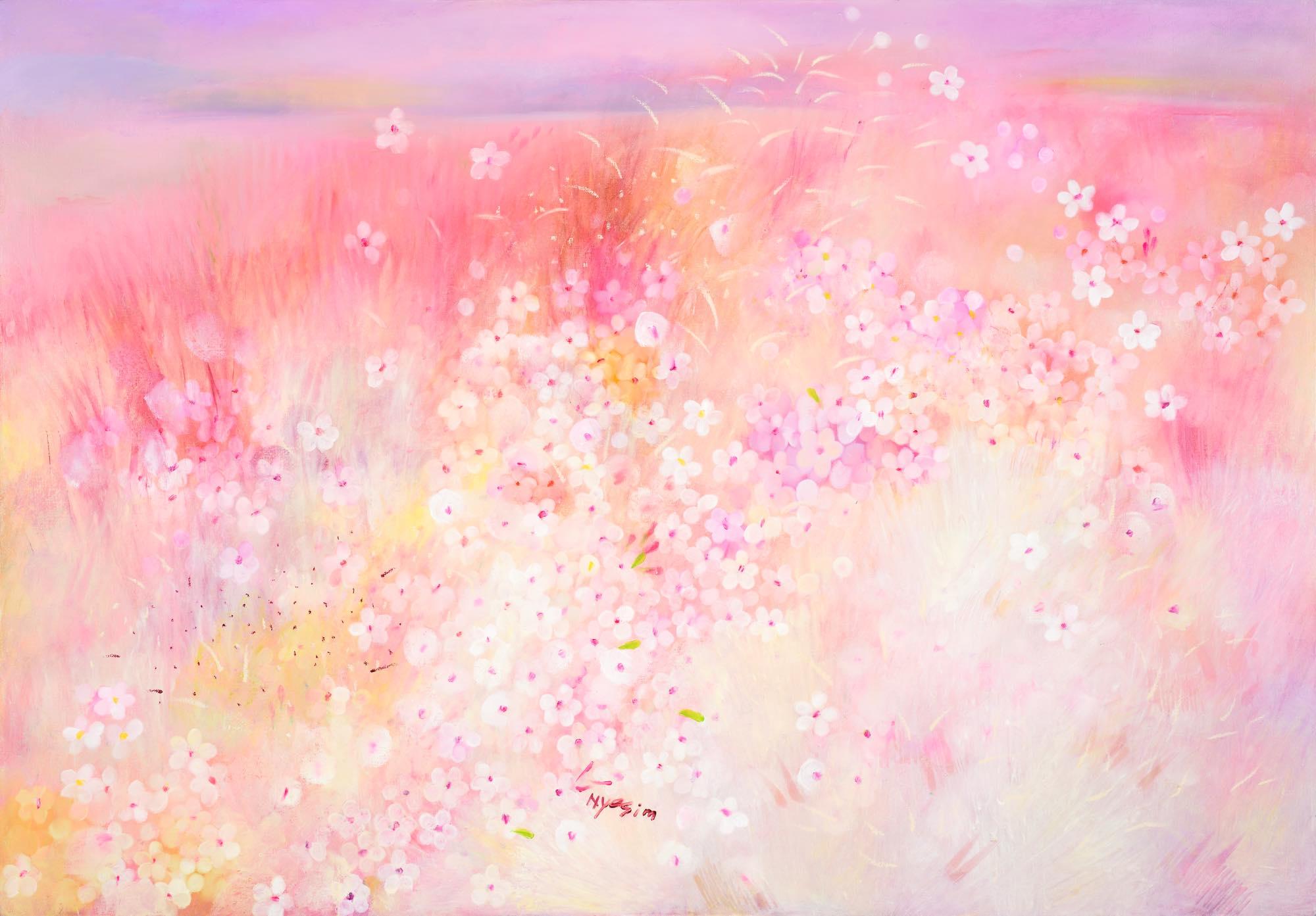 Hyesim Choi, Oil on Canvas, 162cm(W) x 112cm(H), 2021